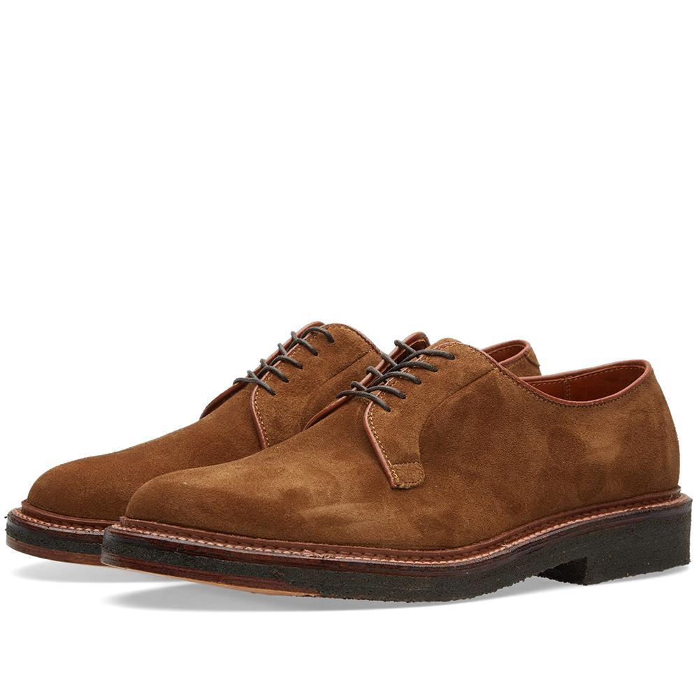 Plain Toe Blucher Shoes