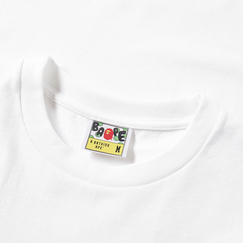 A Bathing Ape Ursus Bape Tee In White For Men Lyst Gallery