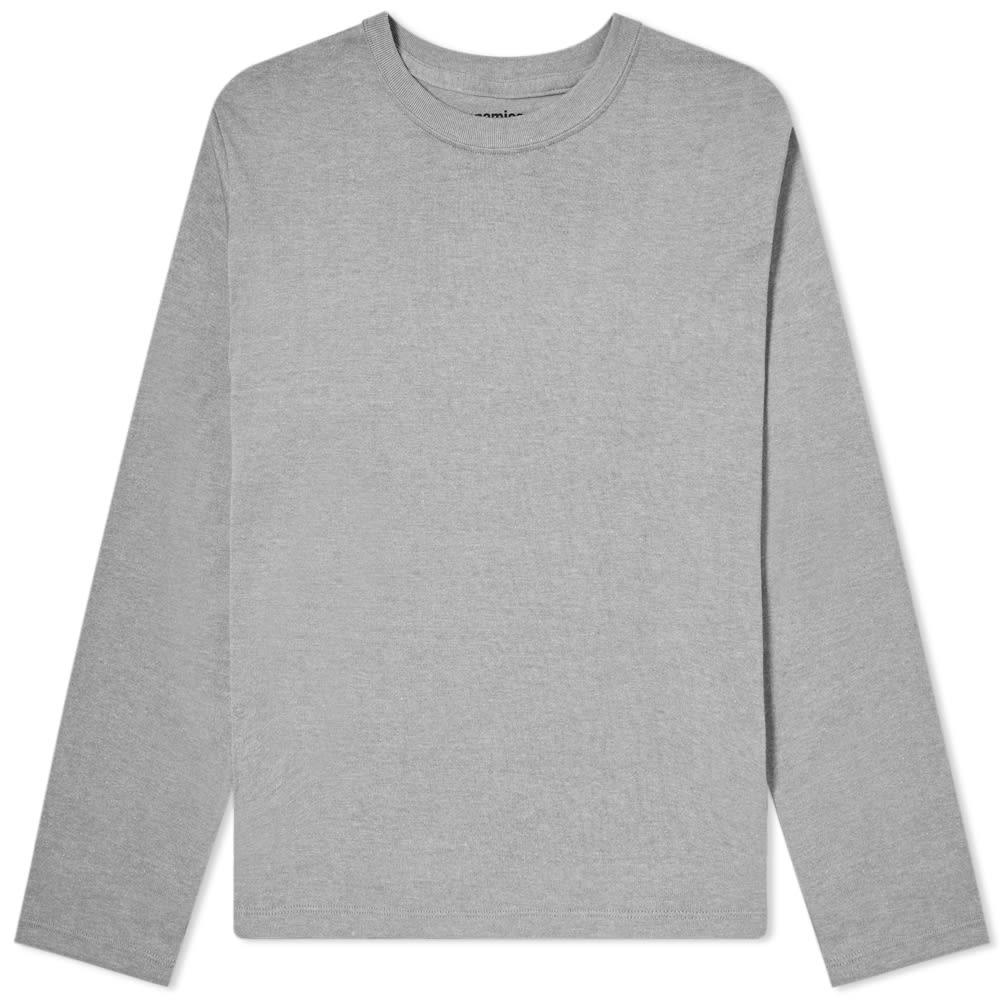 289507ab5618 Nanamica Coolmax Loopwheel Long Sleeve Jersey Tee in Gray for Men ...