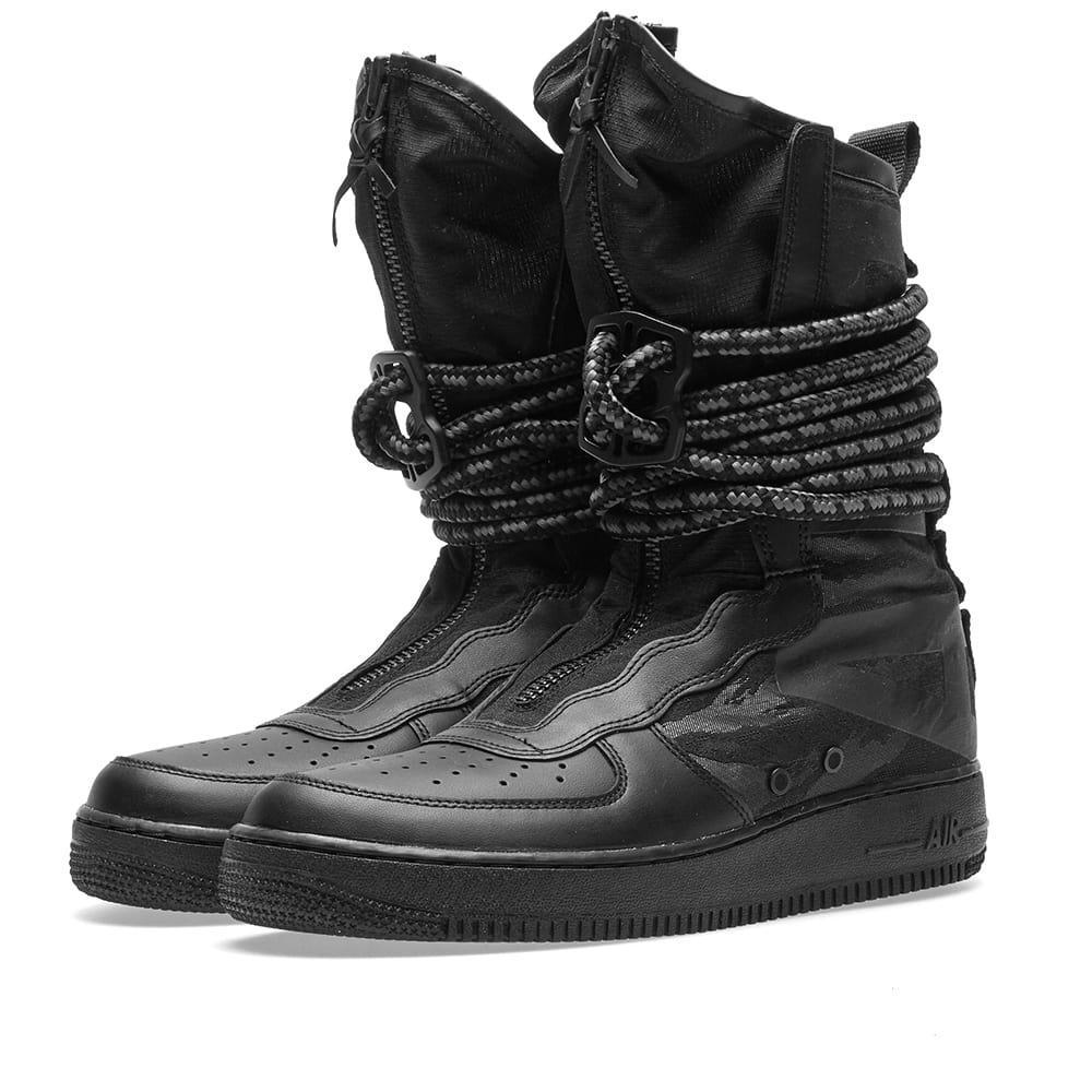 the latest 90046 78cf7 Lyst - Nike Sf Air Force 1 Hi in Black