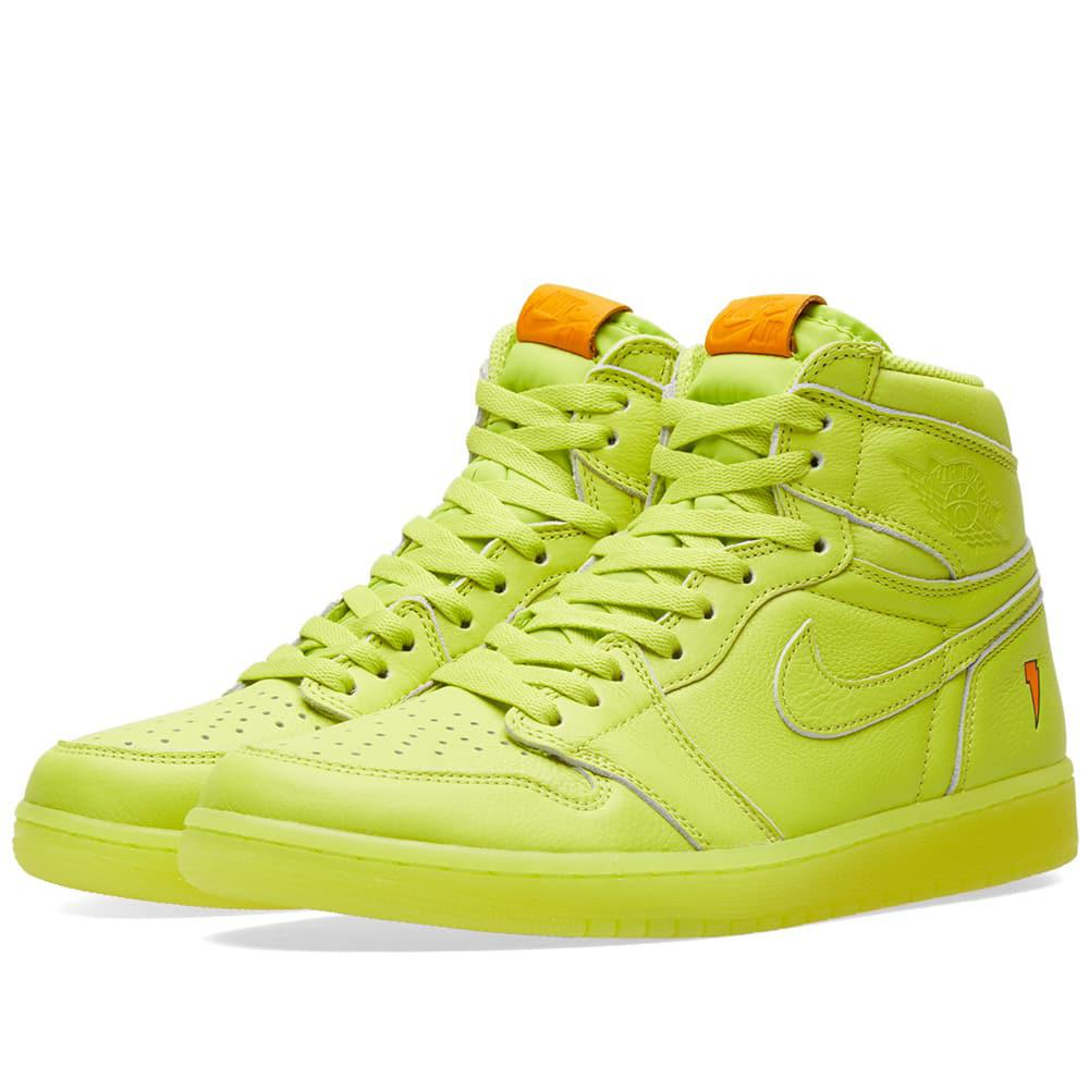 Lyst - Nike Nike Air Jordan 1 Retro Og  gatorade  in Yellow for Men fd68de6a3