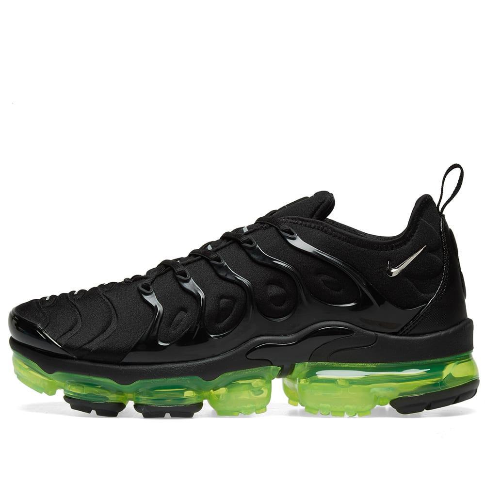 14f8c34341c68 Nike - Black Air Vapormax Plus for Men - Lyst. View fullscreen