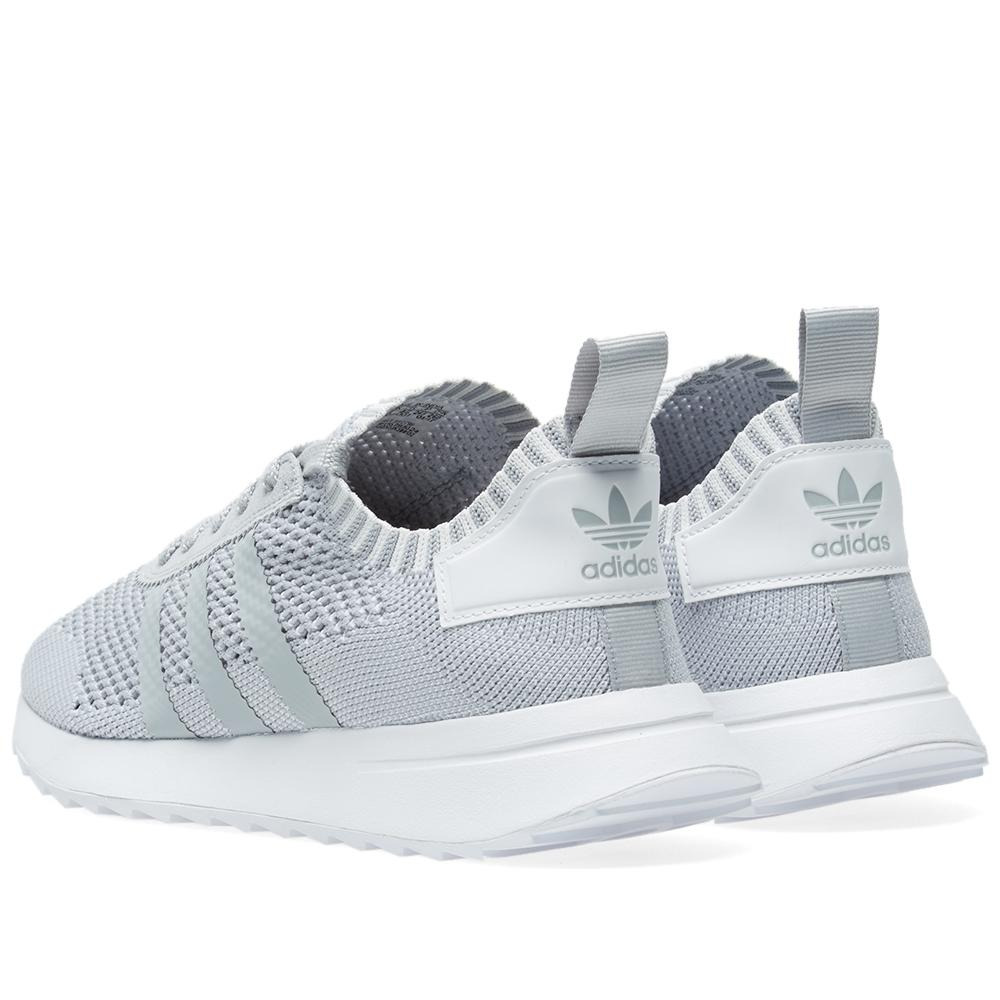 best loved 13ae7 52652 Adidas Originals Womens Flashback W Pk in Gray - Lyst