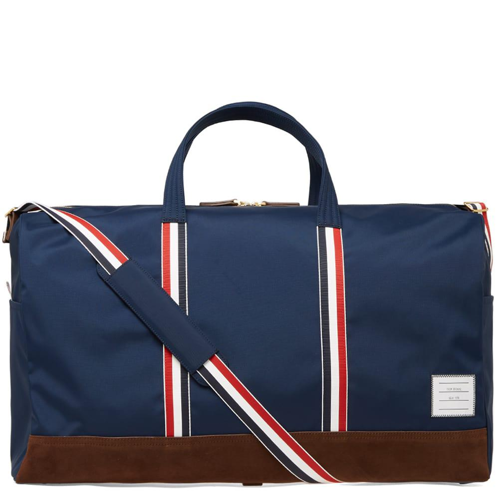 Thom Browne Nylon   Suede Holdall in Blue for Men - Lyst ea4dfd64552d1