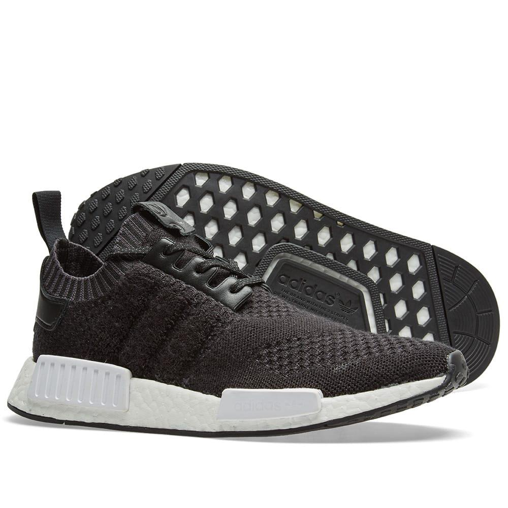 bed8d3b4944f adidas Originals X A Ma Maniere X Invincible Nmd R1 in Black for Men ...