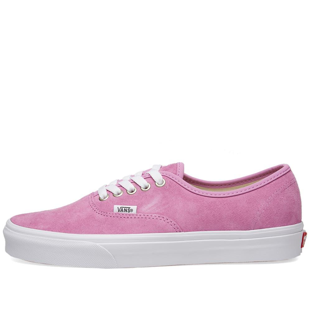 d33dbd4db9e6 Vans Authentic Pig Suede in Pink for Men - Save 33.89830508474576 ...