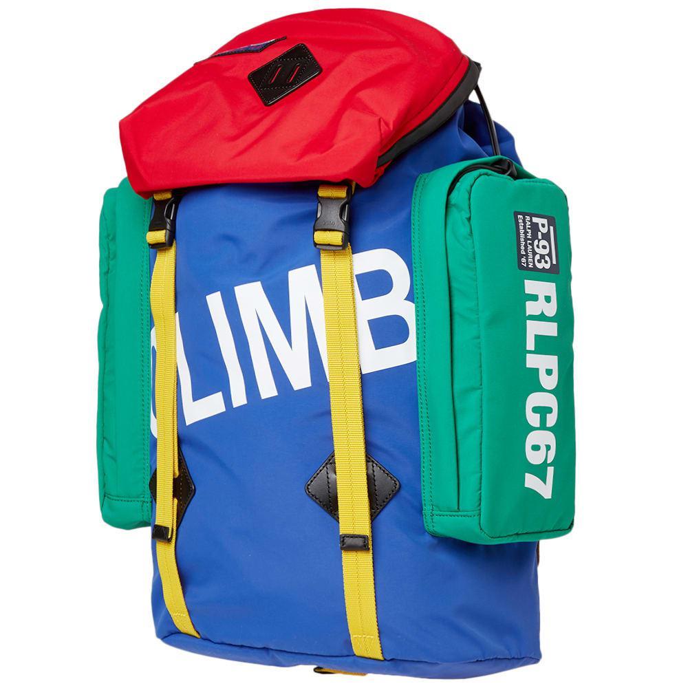 2cf90cb0a Polo Ralph Lauren Hi-tech Climb Backpack in Blue for Men - Save 56 ...