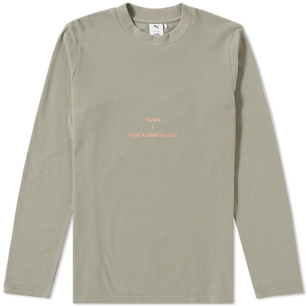 9663083d5b PUMA X Han Kjobenhavn Long Sleeve Tee in Green for Men - Lyst