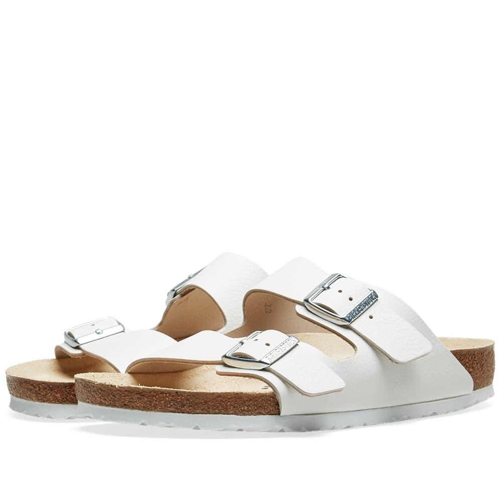 b2add42e77e Birkenstock Arizona in White for Men - Lyst