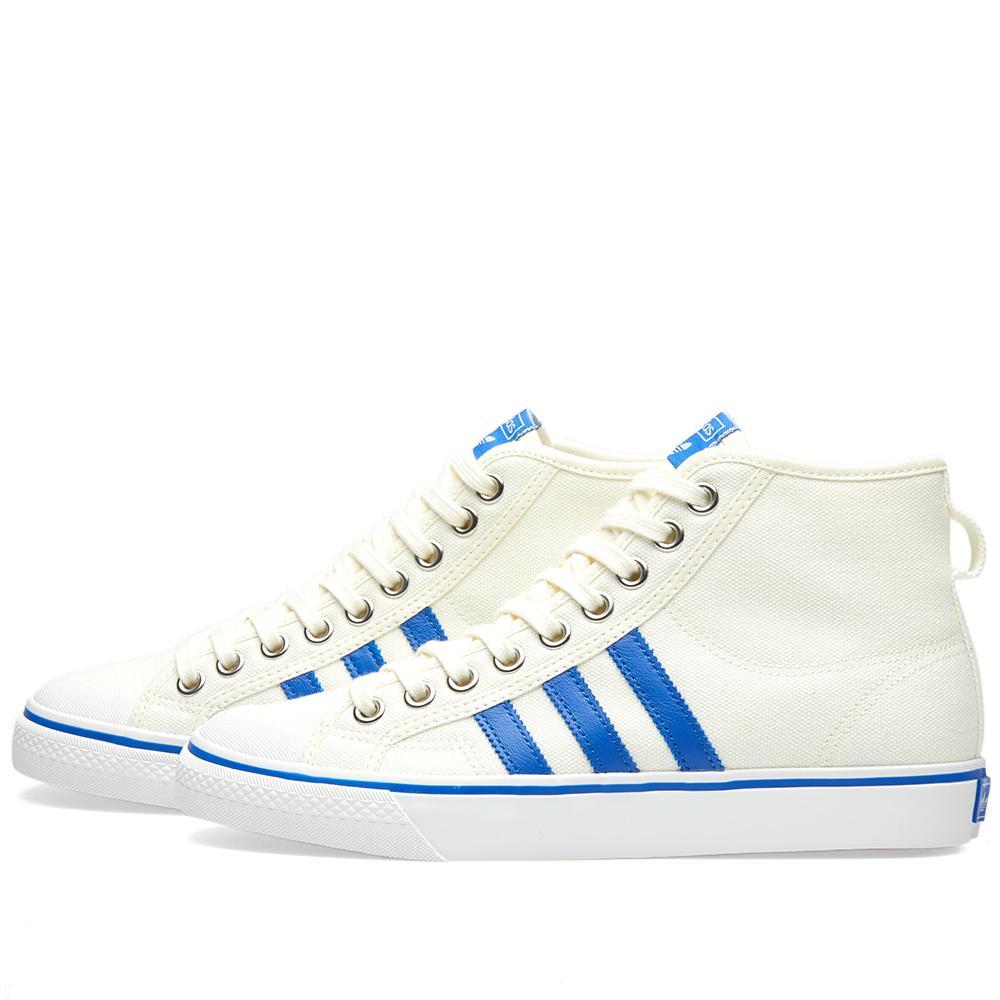 bc64efd749432d Lyst - adidas Originals Nizza Hi in White for Men
