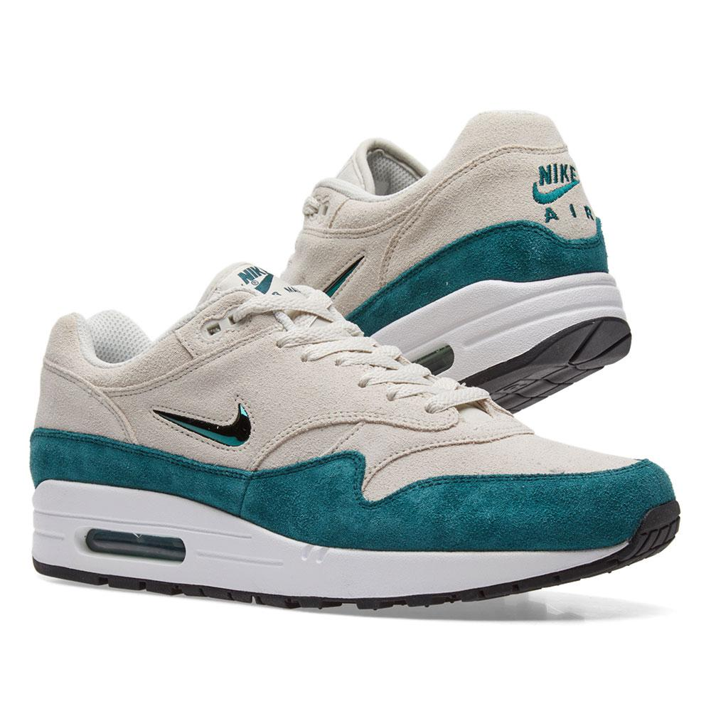 lyst nike air max 1 premium sc in green for men. Black Bedroom Furniture Sets. Home Design Ideas