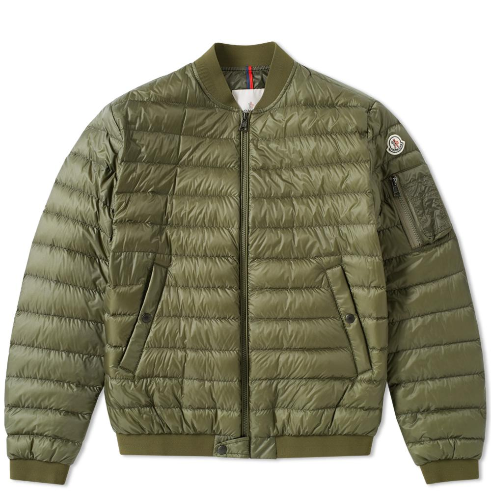 754e452b0d2c Moncler Aidan Ma-1 Jacket in Green for Men - Lyst