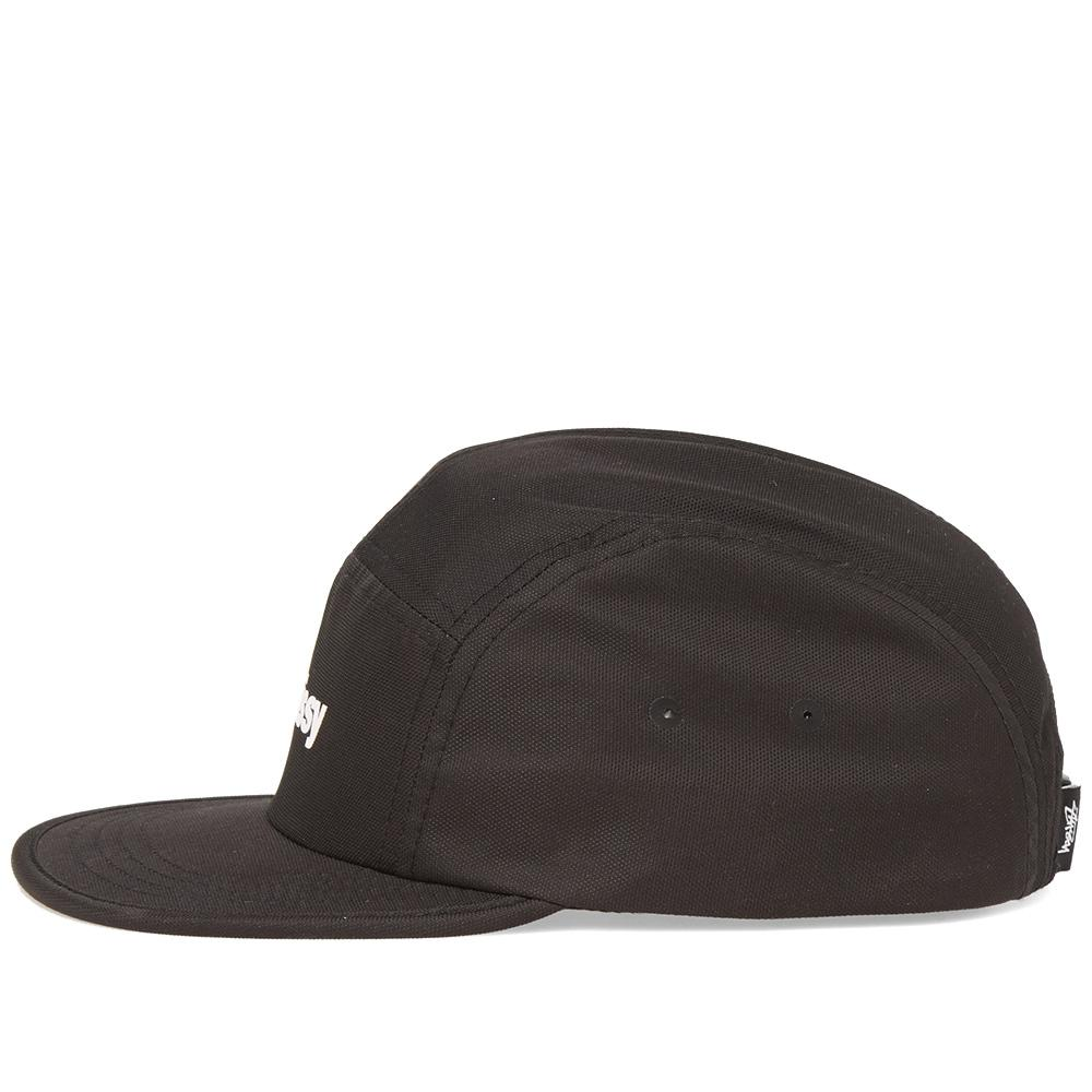 095143a51a2 Lyst - Stussy Crushable Camp Cap in Black for Men