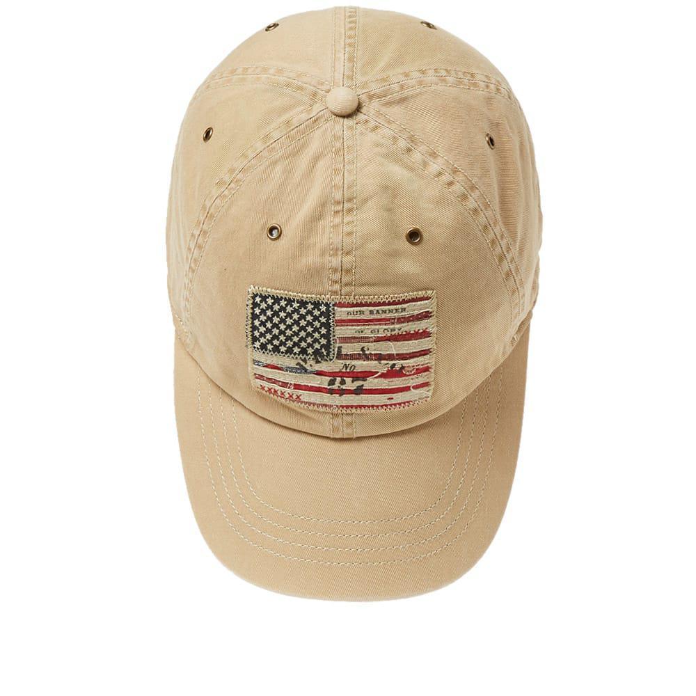 1c3e3e2a8ba Polo Ralph Lauren Icon Usa Flag Cap in Brown for Men - Lyst