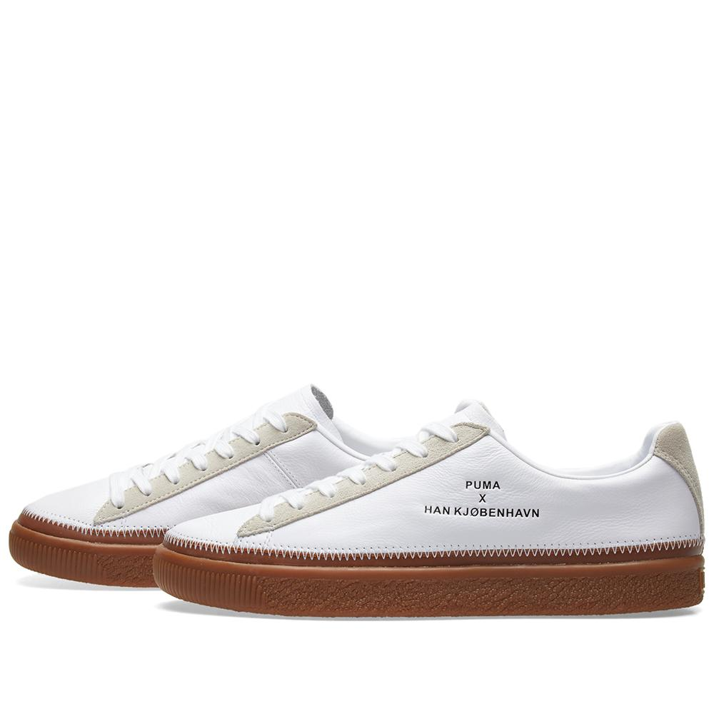 a4e0b85281c Lyst - PUMA X Han Kjobenhavn Clyde Stitched in White for Men