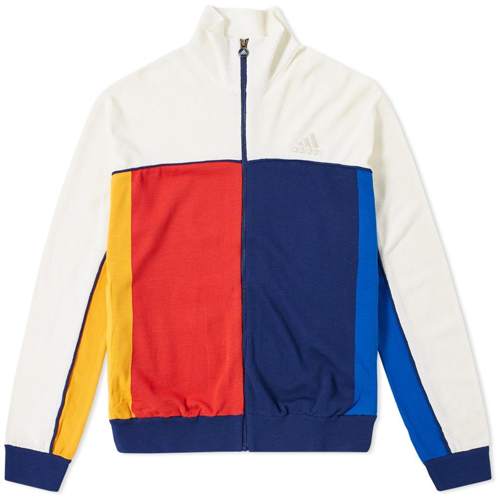 d5019734d4dbe Lyst - adidas Originals Adidas X Pharrell Williams Us Open Jacket in ...