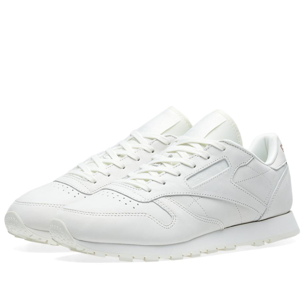 lyst reebok classic leather fbt suede w in white. Black Bedroom Furniture Sets. Home Design Ideas