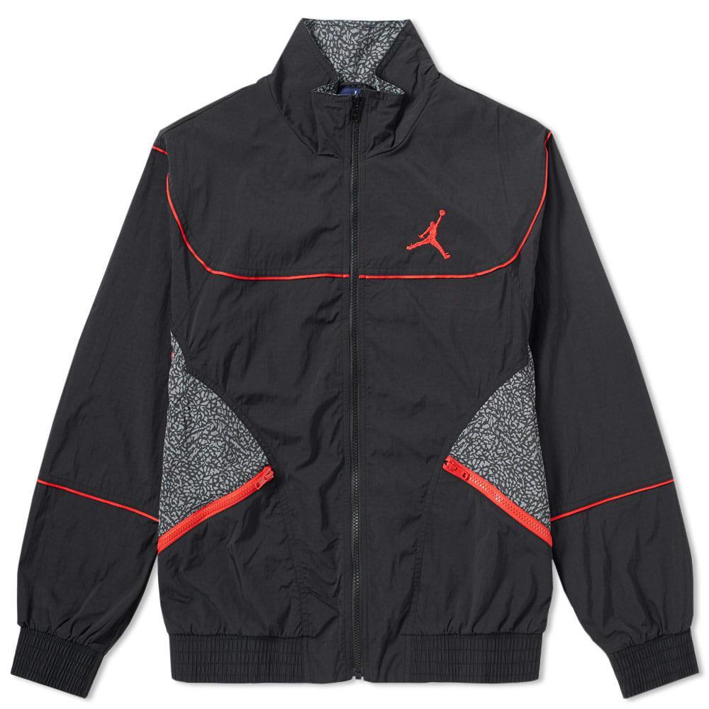 4995d7bc34da22 Nike Jordan Aj 3 Woven Vault Jacket in Black for Men - Lyst