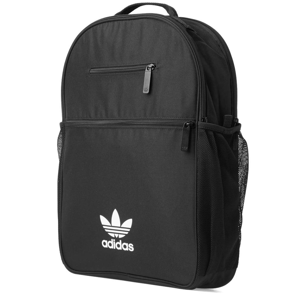 adidas Essential Trefoil Backpack in Black for Men - Lyst df5b7bbc8bdef