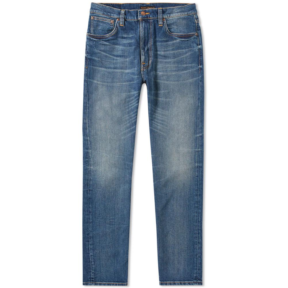 nudie jeans nudie lean dean jean in blue for men save 12 lyst. Black Bedroom Furniture Sets. Home Design Ideas