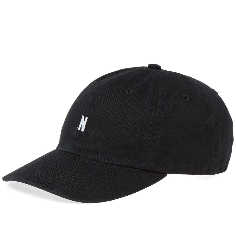 Norse Projects Twill Sports Cap in Black for Men - Save 22.0% - Lyst 97cfd0bfa856