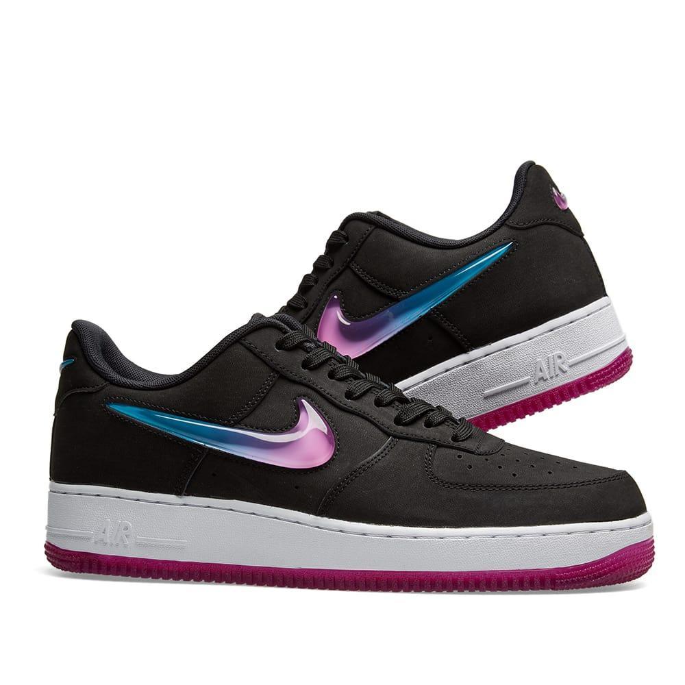 Nike - Black Air Force 1 07 Premium 2 Sneakers for Men - Lyst. View  fullscreen 6f7322dae