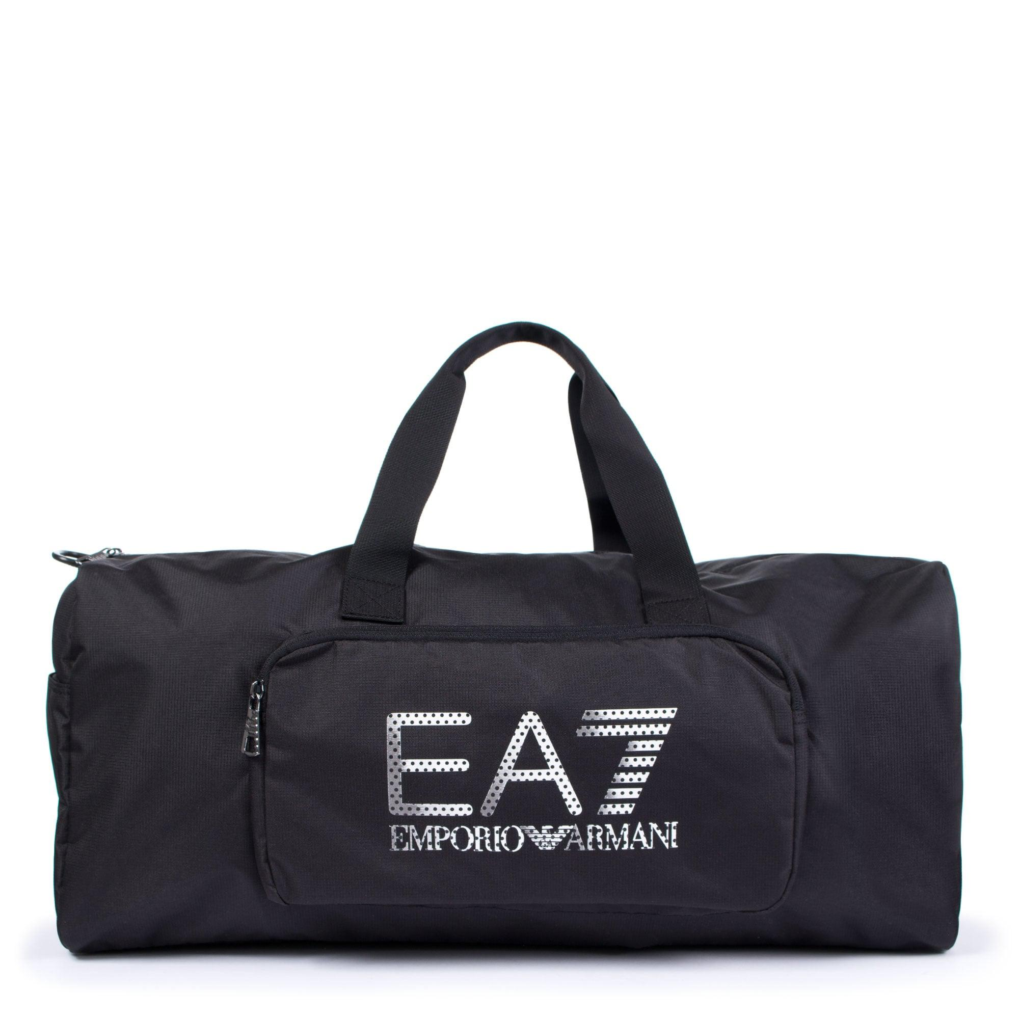 4f3773a5b02c Ea7 Logo Gym Bag In Black in Black for Men - Lyst