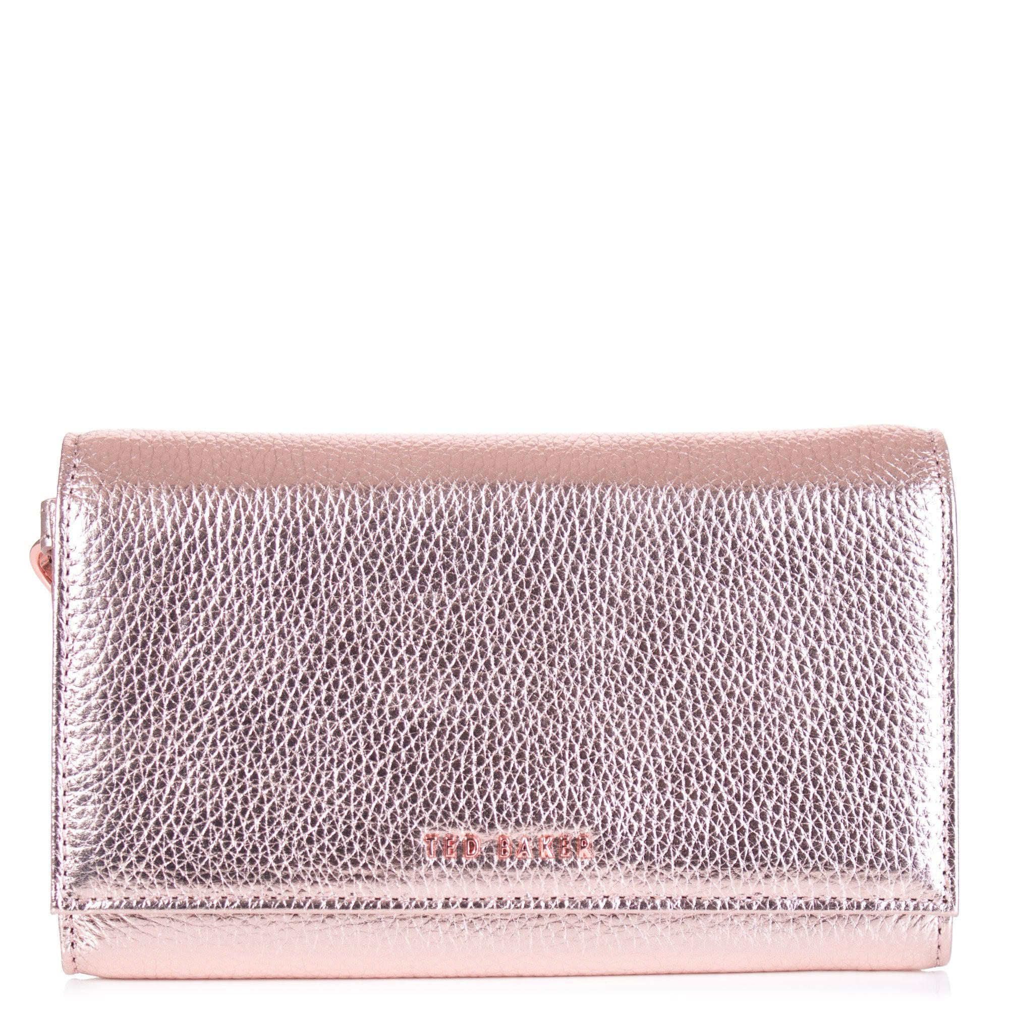 f1f91f3050052 Ted Baker Holli Textured French Purse in Pink - Lyst