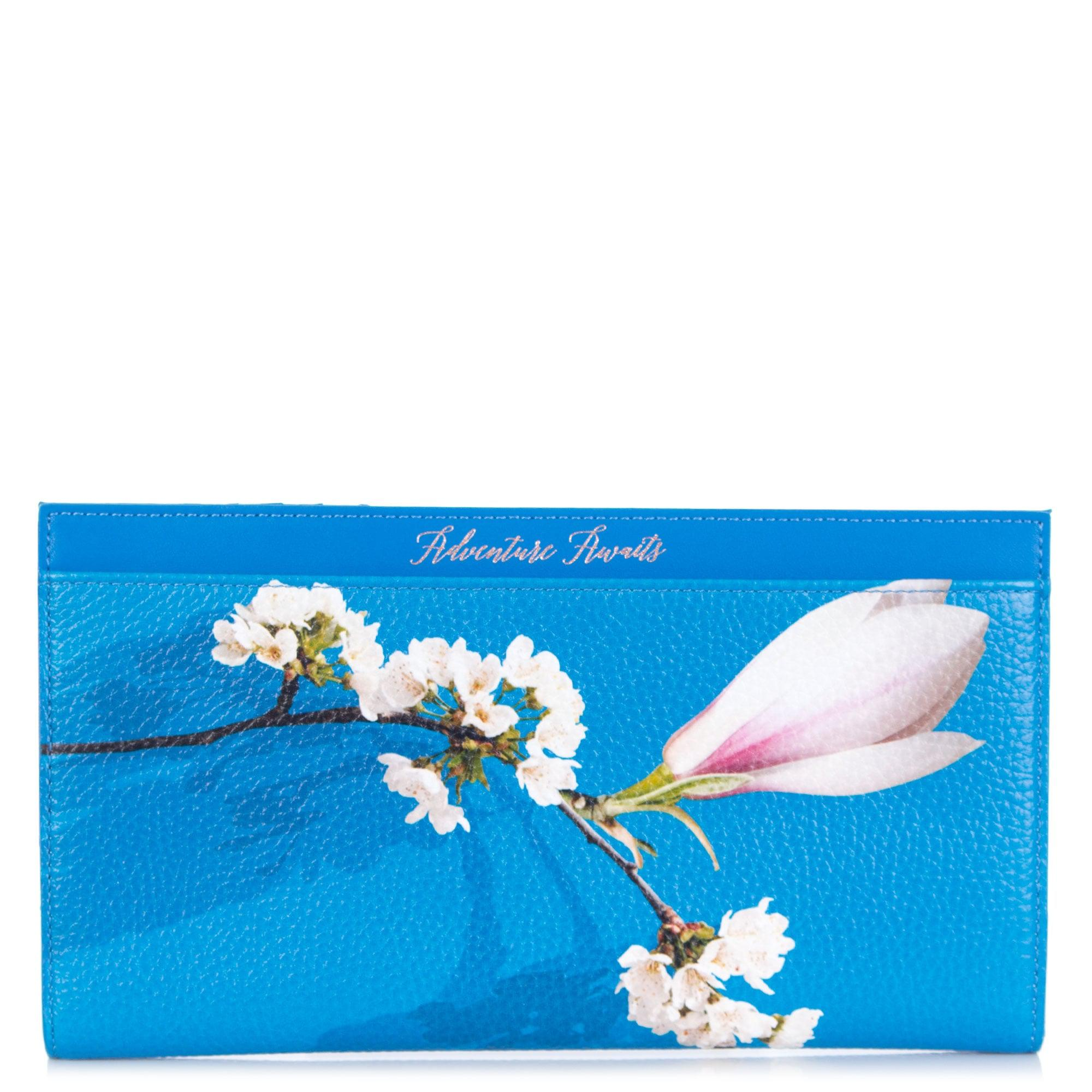 11abae536 Ted Baker Sharon Harmony Leather Travel Set In Blue in Blue - Lyst