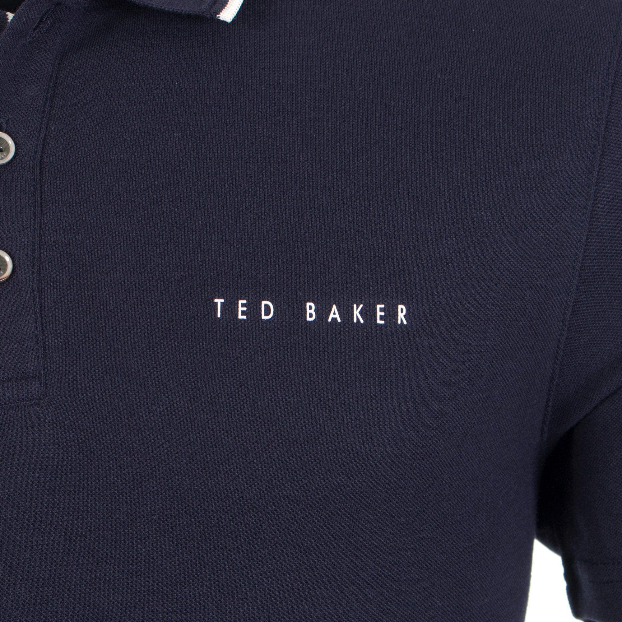 8eaa8208e083 Ted Baker - Blue Bloko Polo Shirt for Men - Lyst. View fullscreen