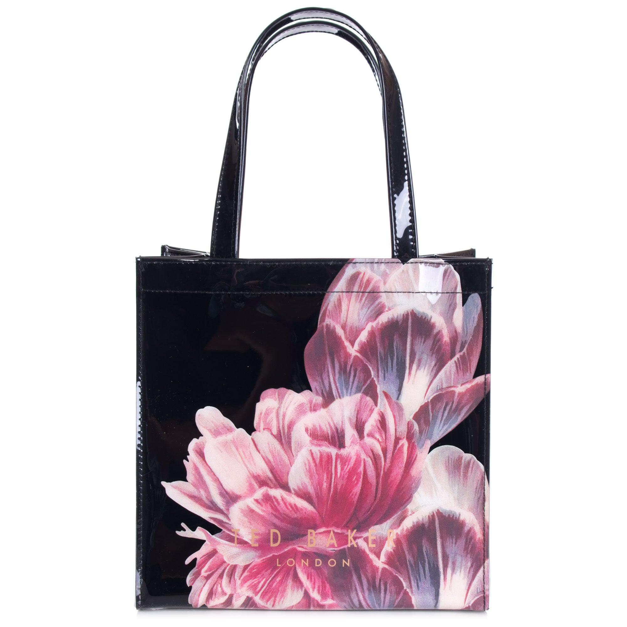 e51f903b6057 Ted Baker Tamycon Tranquility Small Shopper in Black - Lyst