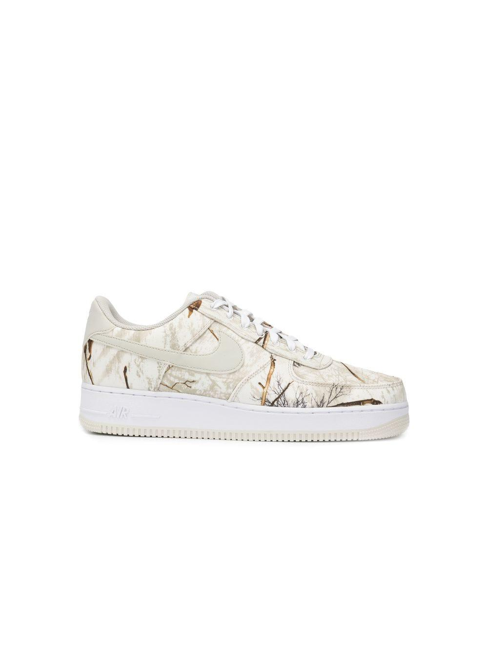 5abce5145b23 Lyst - Nike Air Force 1 X Realtree Sneakers in White for Men