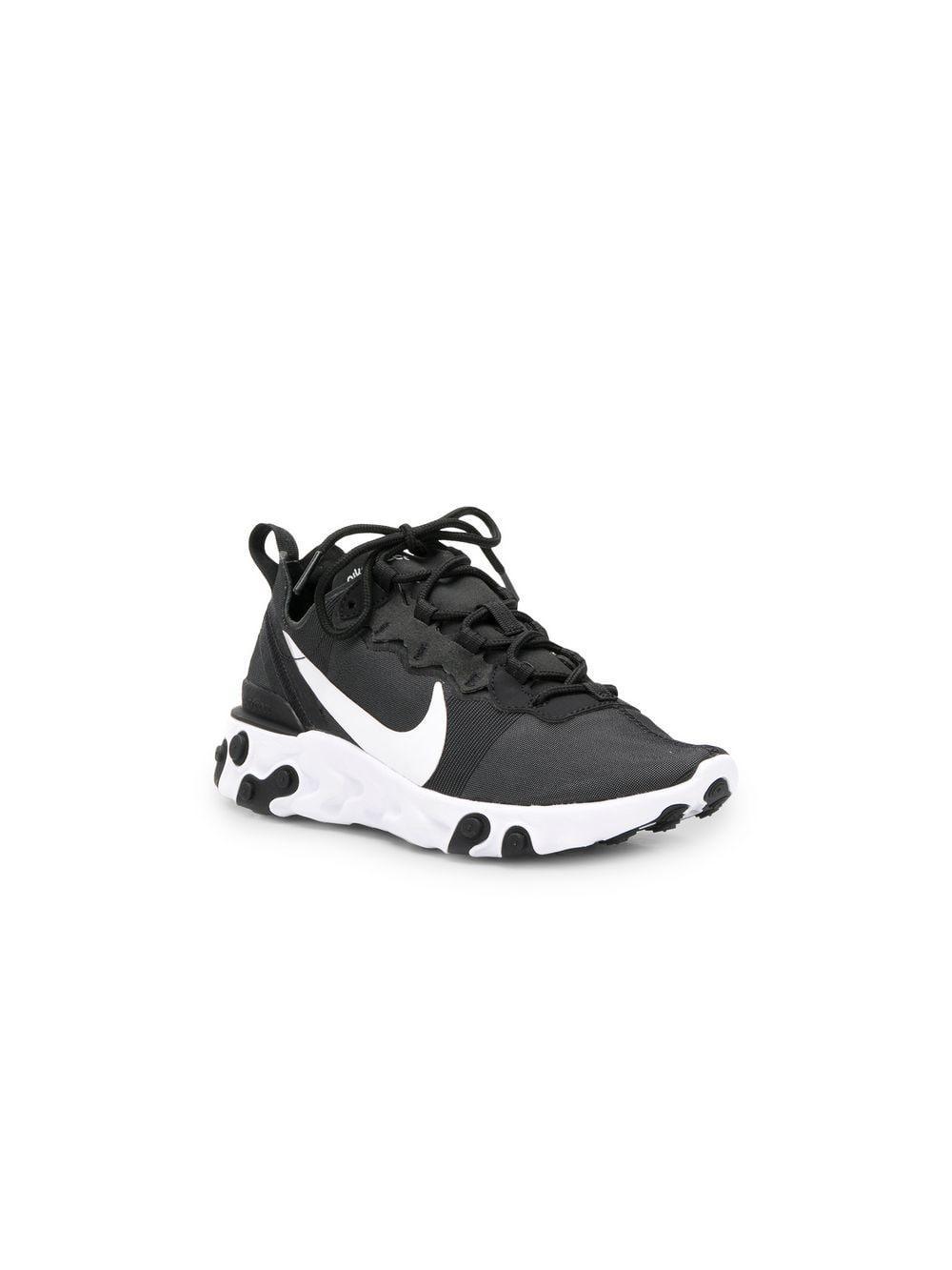ccf9d94805e7 Lyst - Nike React Element 55 Black  White in Black - Save 13%