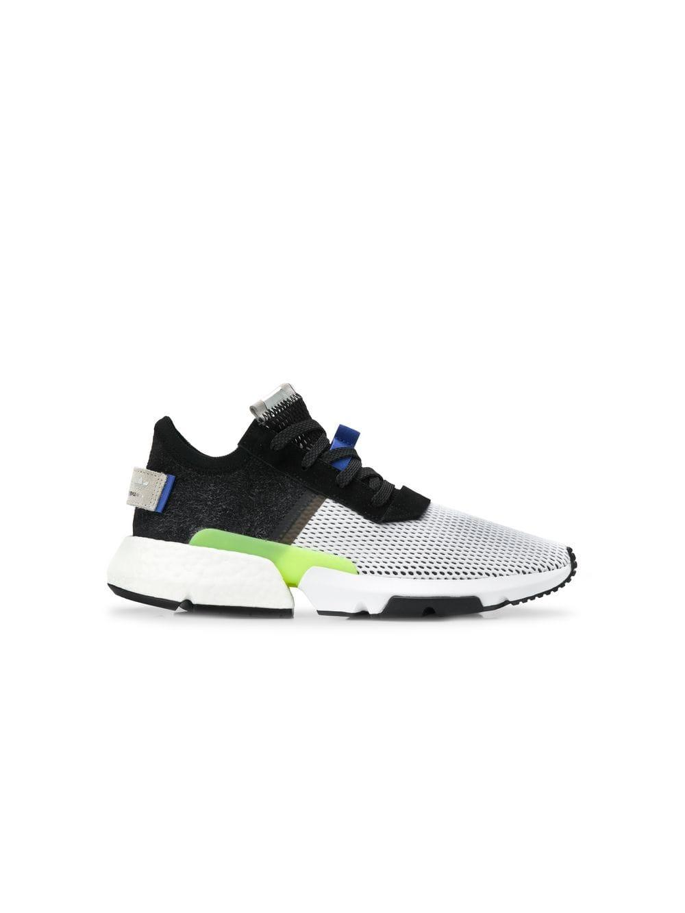 9ad0135dc494c adidas White And Black Pod S31 Mesh Sneakers in White for Men - Lyst