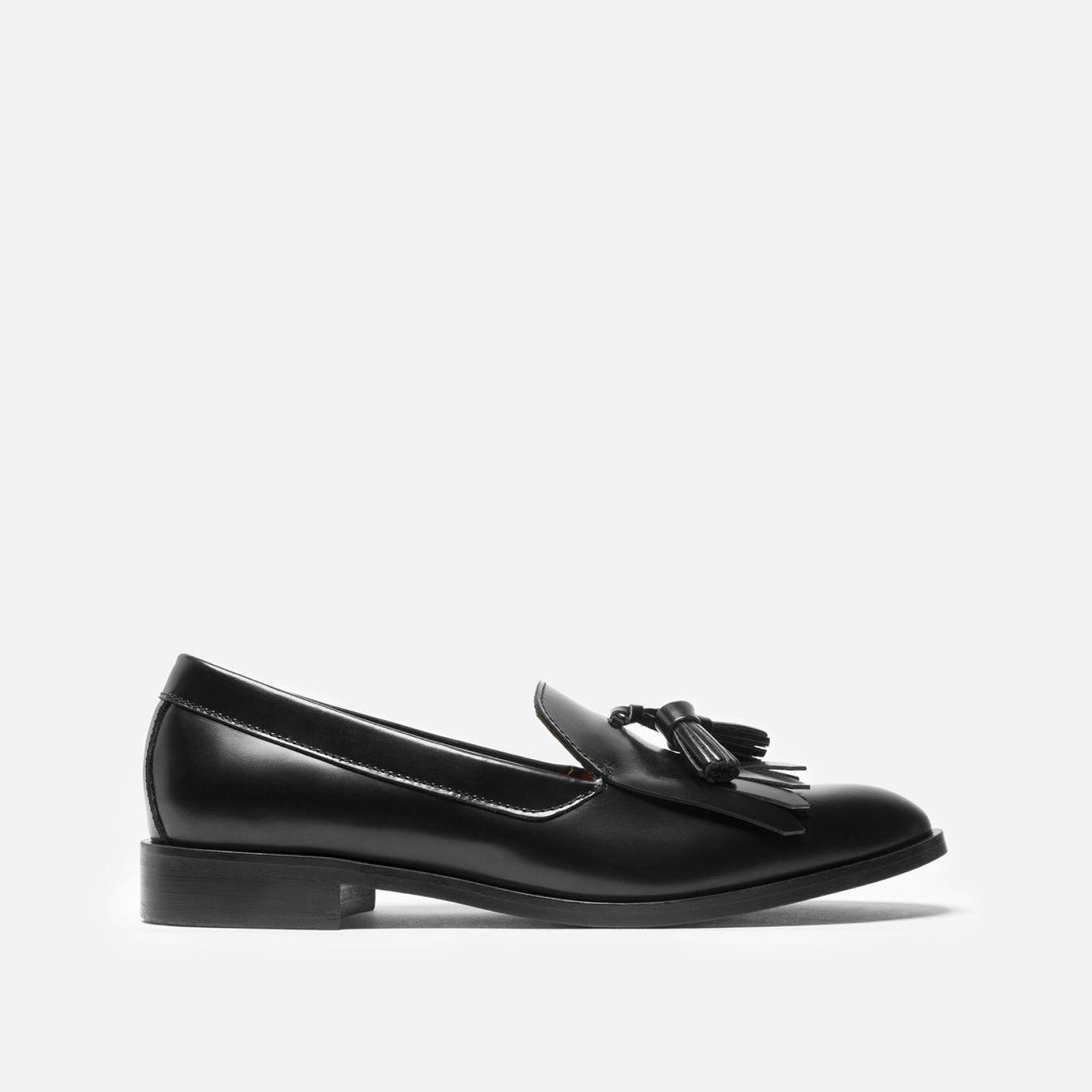 6d7a82e644c Lyst - Everlane The Modern Tassel Loafer in Black
