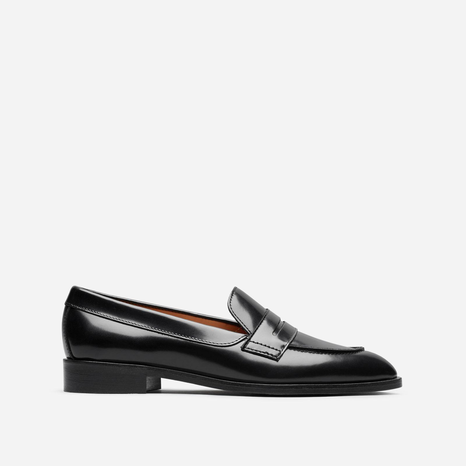 2d144b5e098 Lyst - Everlane The Modern Penny Loafer in Black