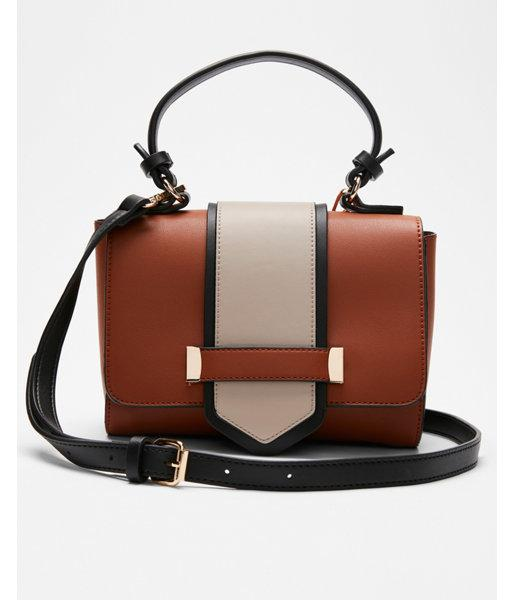 1fc8392a3e Express Melie Bianco Crossbody Bag in Brown - Lyst
