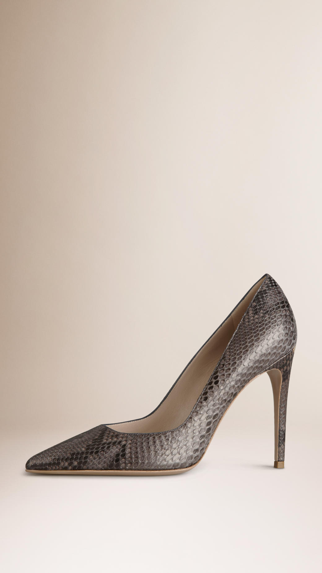 Burberry Python Pointed-Toe Pumps store sale online low cost 56kA0V3J