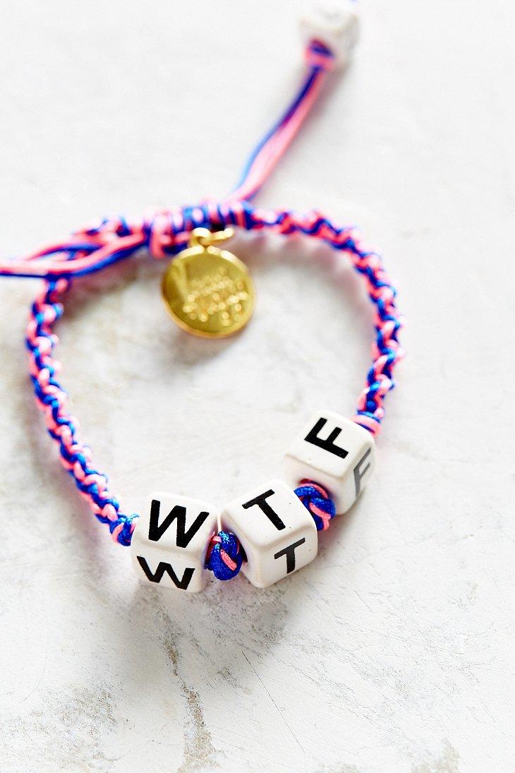 Bracelet Wtf Venessa Arizaga TTVKJR