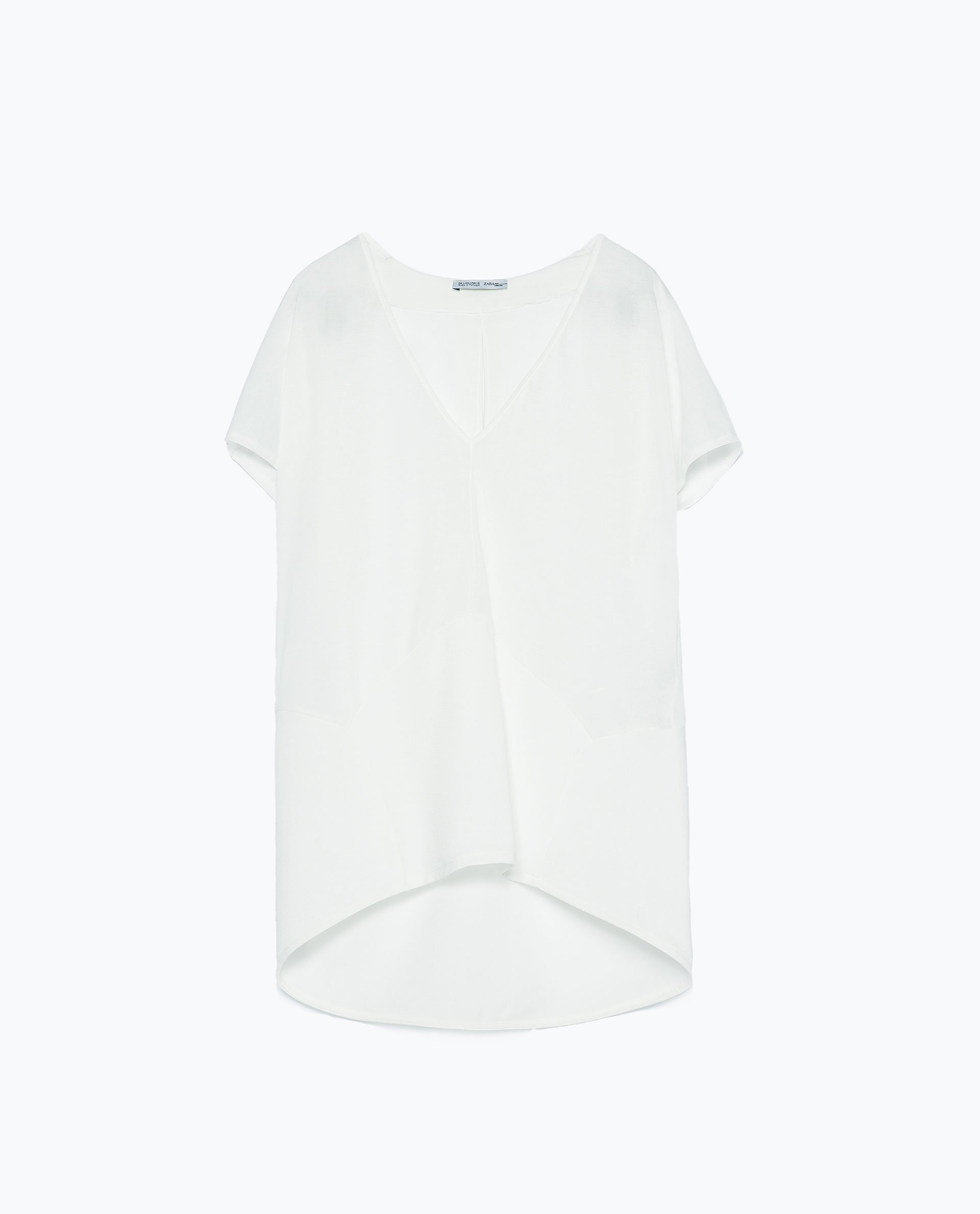 Zara Shirt Style Blouse 29
