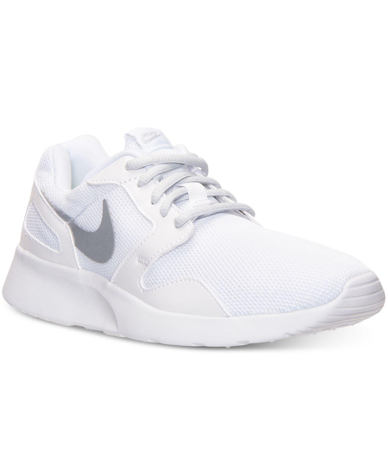 new product bb2e5 7d3a0 Nike Women s Kaishi Casual Sneakers From Finish Line in White - Lyst