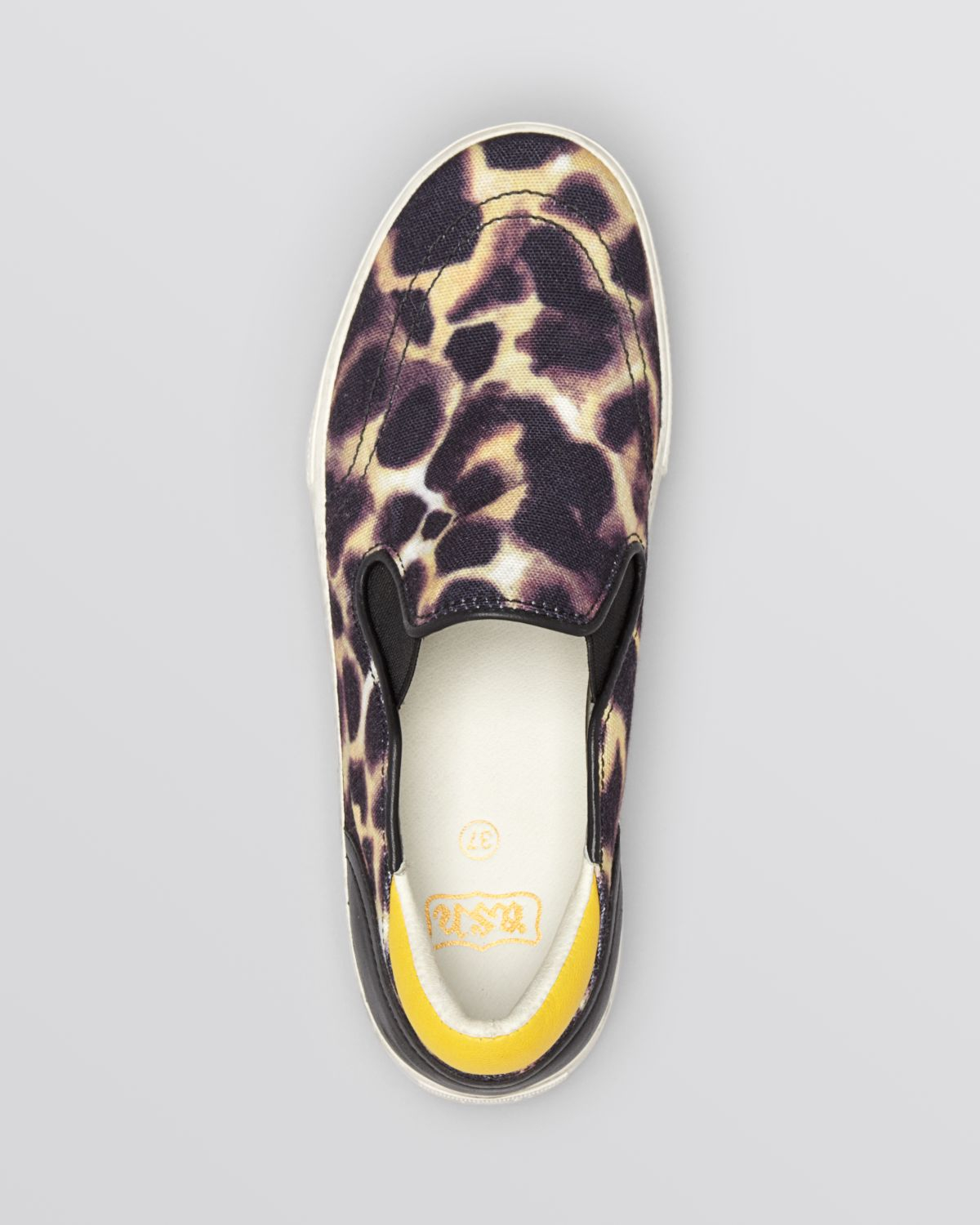 217a00458174 Ash Slip On Sneakers - Jungle Bis Cheetah Print in Yellow - Lyst