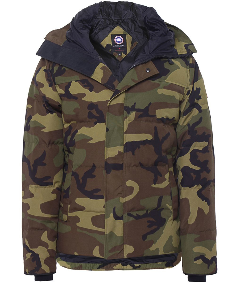 ... canada goose camouflage macmillan parka in green for men ly