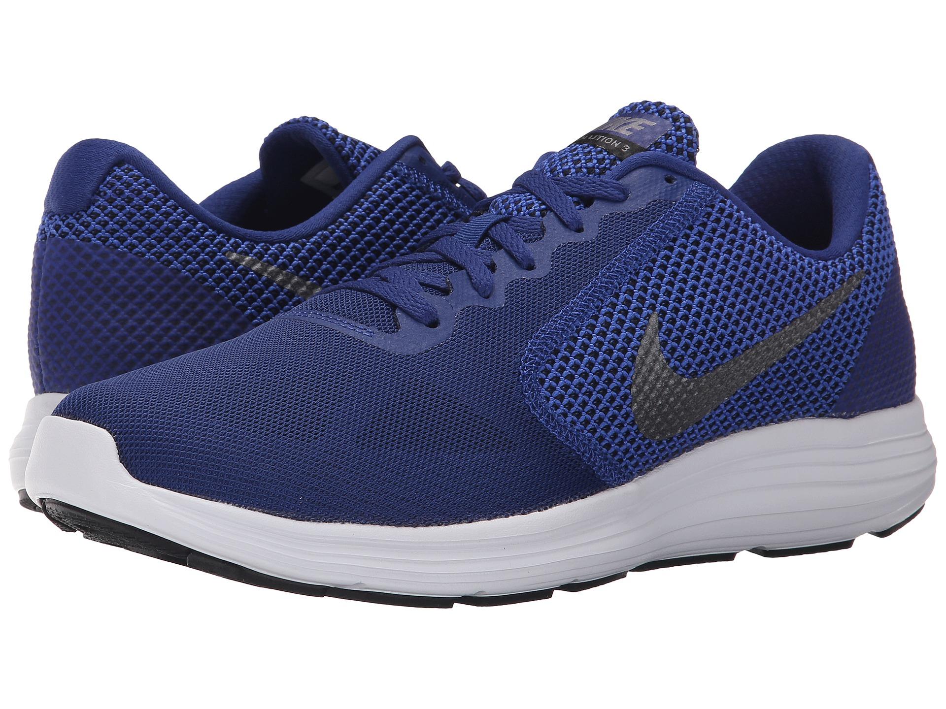 best loved e18fb 982e1 Nike Revolution 3 in Blue for Men - Lyst