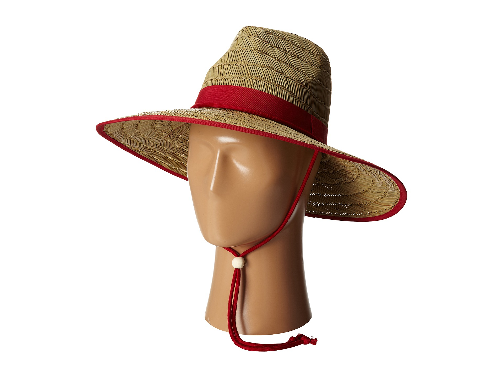 25a538250ad92 San Diego Hat Company Rsl5556 Rush Straw Lifeguard W  Band And Chin ...