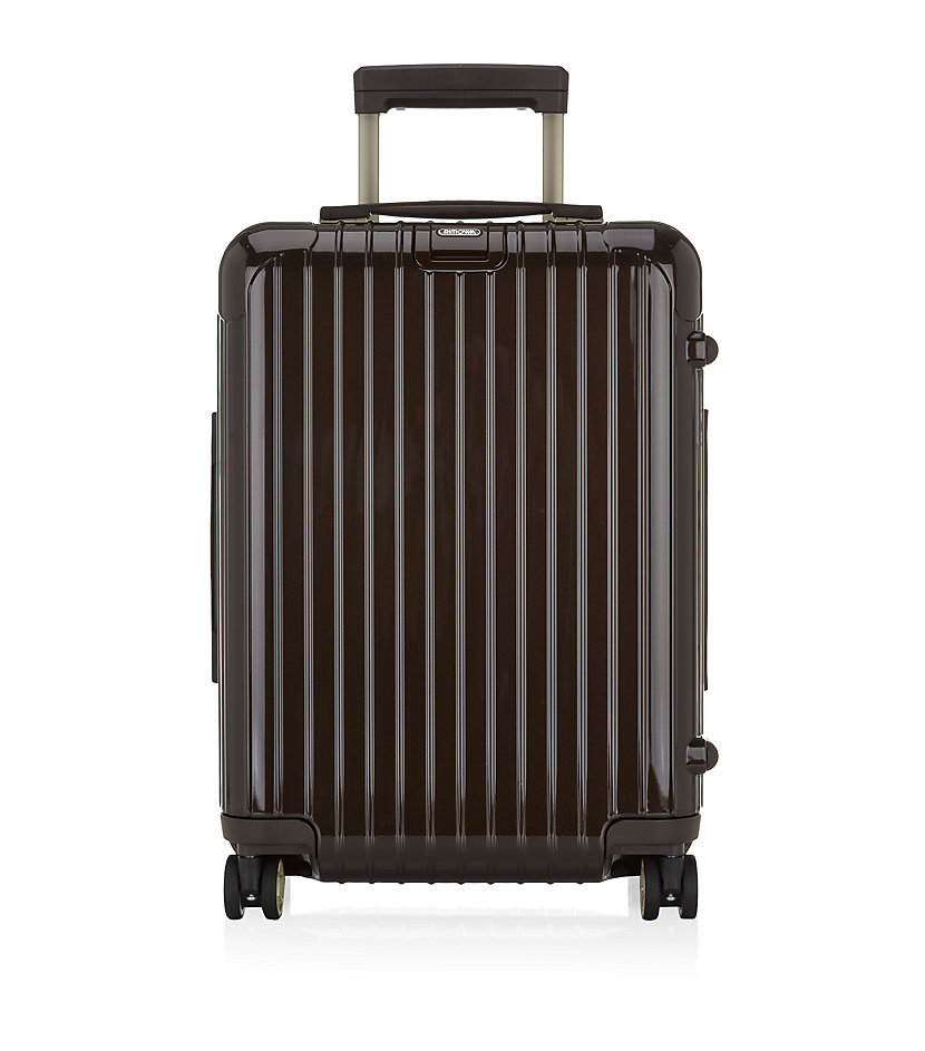 rimowa salsa deluxe cabin trolley spinner 50cm in brown. Black Bedroom Furniture Sets. Home Design Ideas