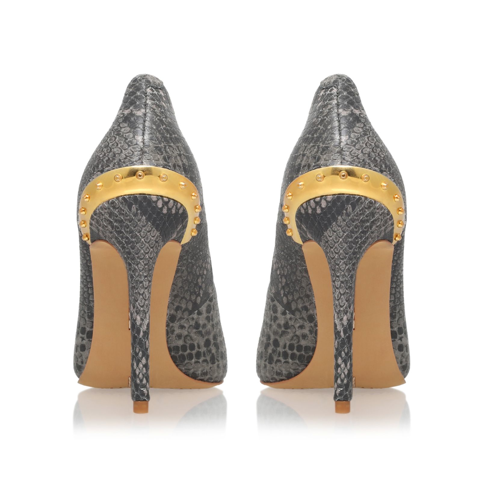 Lyst Vince Camuto Nalda High Heel Court Shoes In Gray