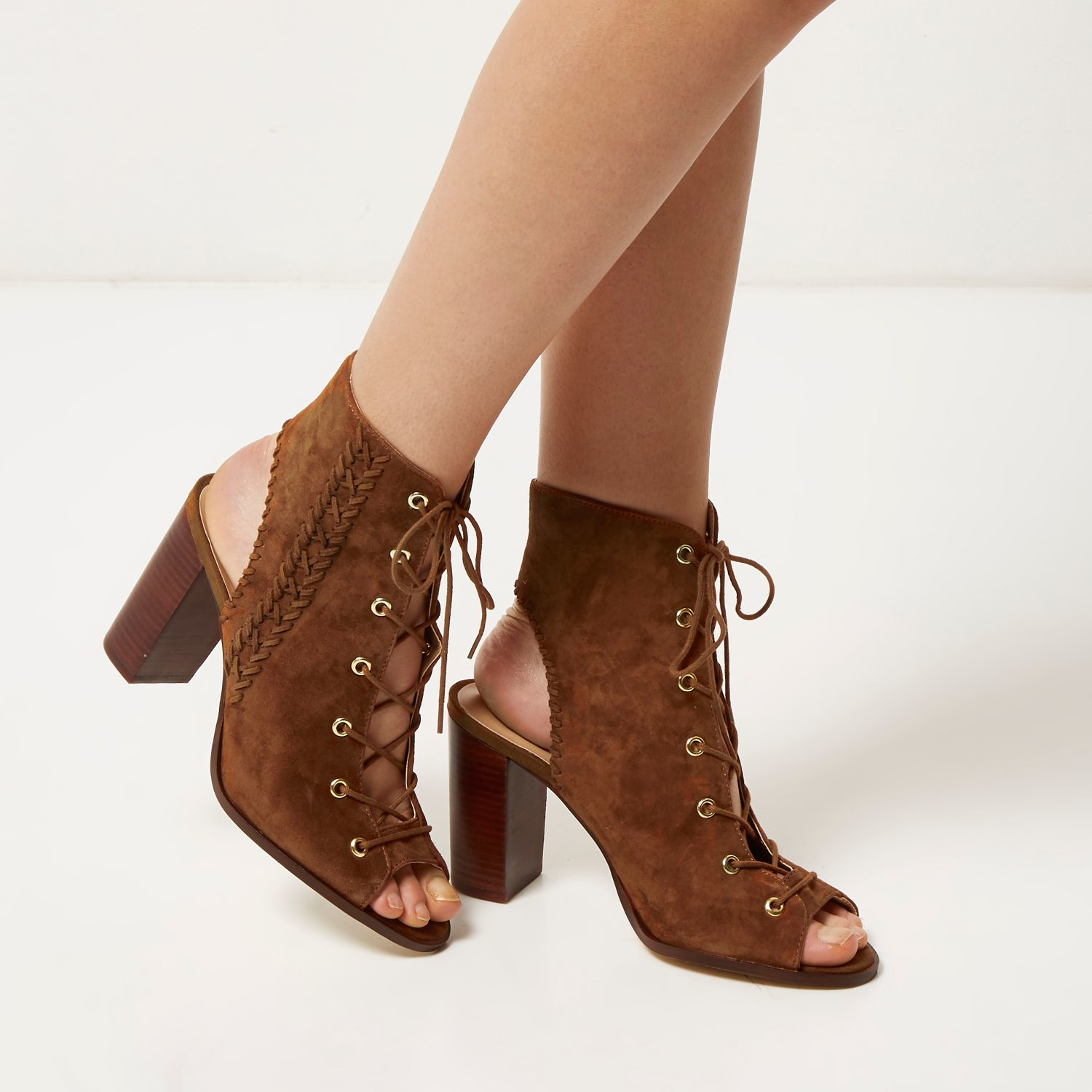 River Island Lace-up boots - brown 0truoS4Pz