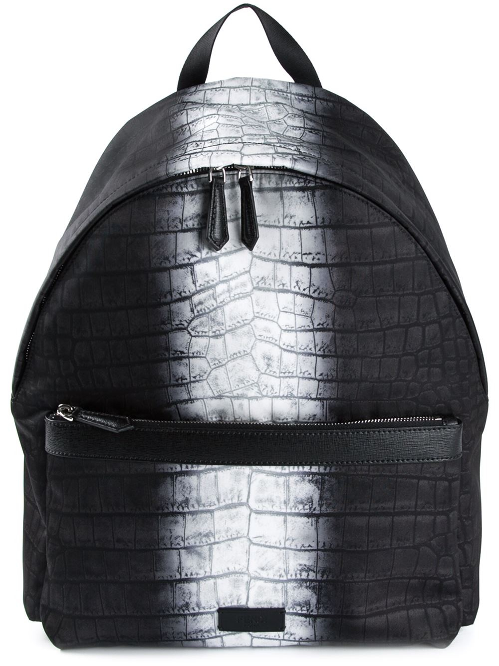 85e9f765d4d9 Lyst - Fendi  Code  Backpack in Black for Men