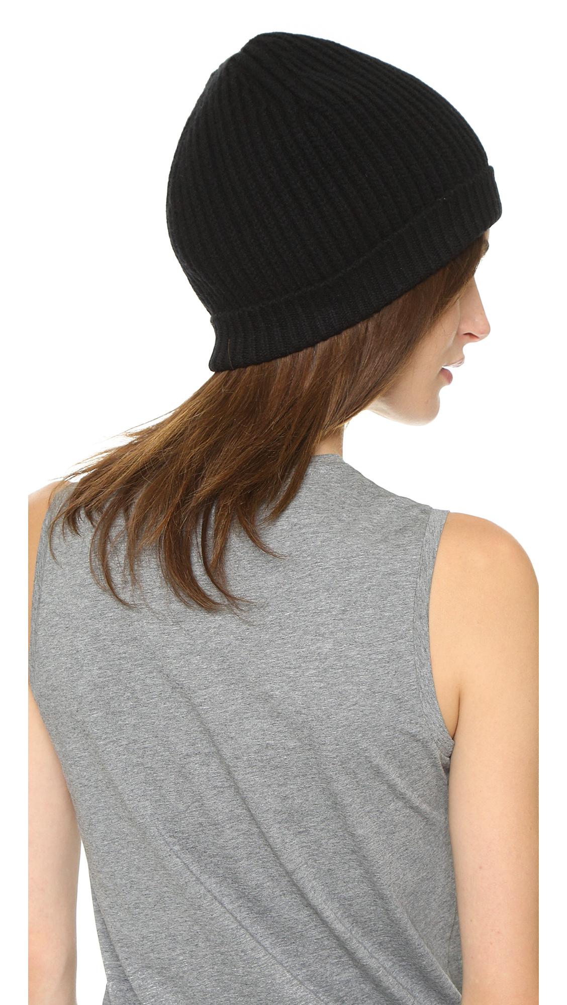 1498393d3ad4 Acne studios Canning L Rib Hat in Black